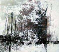 ARTFINDER: Spighe - III by Marjan Fahimi - Mixed media on wood - 90x100 cm