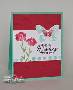 LW Designs: Rose Red Painted Petals