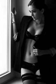 black Lingerie on window lite boudoir portrait Lingerie Fine, Black Lingerie, Nice Lingerie, Black Underwear, Gorgeous Lingerie, Shooting Photo Boudoir, Femmes Les Plus Sexy, Bridal Boudoir, Sexy Poses