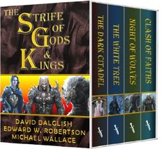 The Strife of Gods & Kings by David Dalglish, http://www.amazon.com/dp/B00D5YVHIM/ref=cm_sw_r_pi_dp_IYcTrb1VSH7ZS