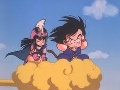 Goku y Milk Goku and Chichi