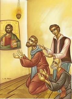 Praying Daily Have a regular prayer rule that includes morning and evening prayer. Worshiping and Participating in Sacraments A. Early Christian, Christian Faith, Christian Families, Saint Gregory, Evening Prayer, Prayer And Fasting, Religious Images, Orthodox Christianity, Orthodox Icons