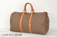 Vintage Louis Vuitton Monogram Keepall 50 Travel Bag M41426