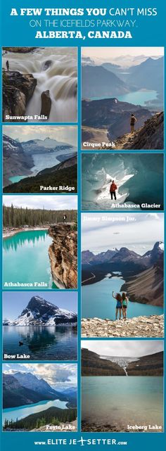 Icefields parkway banff canada Nordamerika Reisen A Guide to Driving the Icefields Parkway Places To Travel, Travel Destinations, Places To Visit, Travel Tourism, Travel Agency, Banff National Park, National Parks, Jasper National Park, Wayfarer