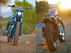 Harley Sportster 1200 by Biltwell... its got a cool enduro feel to it. Dig it.
