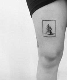 Yi Stropky, Tattoo artist | cactus tattoo
