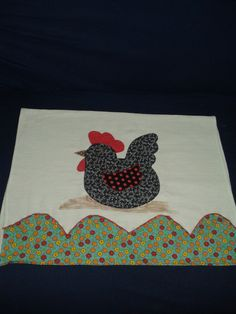pano de prato galinha