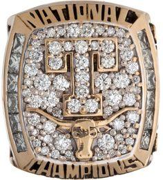 2005 University of Texas Longhorns NCAA Baseball Championship Ring