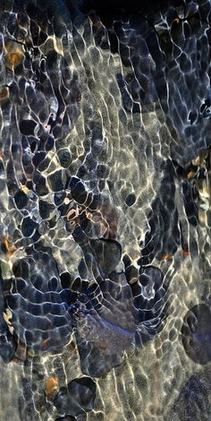 Abstract: Blackwater Over Basalt Stones photo by russell.tomlin (flickr) #reflections #photography #water