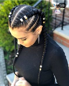 10 Beautiful Braidsbraids Dm For Promo Ideas Feed In Braids Hairstyles, Black Girl Braided Hairstyles, Weave Hairstyles, Curly Hair Styles, Natural Hair Styles, Twisted Hair, Girls Braids, Two Braids, Braids For Black Hair