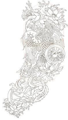 Japanese phoenix 2 by ~Dude-Skinz-Tattooing on deviantART