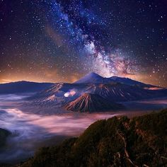 Bromo Mountain, Indonesa