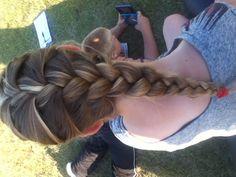 French braid love it!! :)