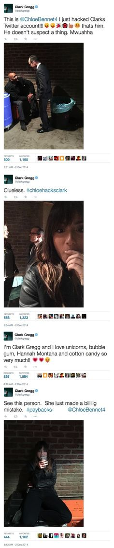 Proof they really are Coulson and Skye!