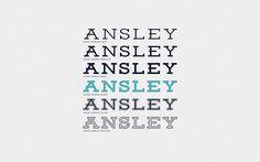 Ansley Display free font by Kady Jesko #free #display #typeface