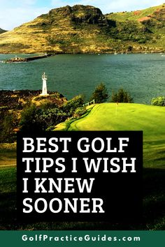 Here are my best golf tips I wish I knew as a beginner to the sport of golf. I became successful at golf after many years of practice and hard work but here's some important golf tips every beginner should learn early! Click to read about these golf tips on the blog GolfPracticeGuides.com #golf #golftips