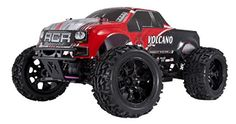 Redcat Racing Electric Volcano EPX Truck with Radio,Vehicle Battery and Charger Included Scale), Red - Radio Control Pictures Monster Trucks For Sale, Rc Cars And Trucks, Dodge Trucks, Semi Trucks, Remote Control Cars, Radio Control, Best Rc Cars, Tr 4, Rc Autos