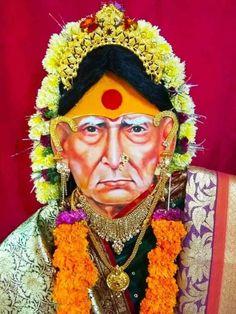 Saints Of India, Swami Samarth, Osho, Really Funny Memes, Utensils, Desi, Captain Hat, Idol, Brass