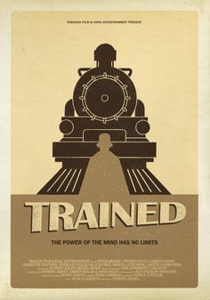 Trained Short Film Poster