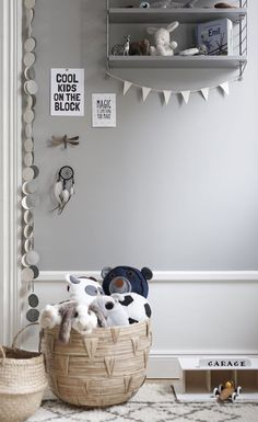Choosing on your kid's room exterior decoration can get pretty much daunting. Get inspired with these kids interior decoration ideas right away. Baby Bedroom, Baby Boy Rooms, Nursery Room, Kids Bedroom, Nursery Decor, Bedroom Ideas, Girl Rooms, Nursery Ideas, Kids Decor
