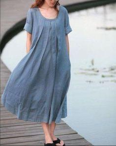 Blue skirts women skirt fashon skirts Long Skirts by fashiondress6, $58.50