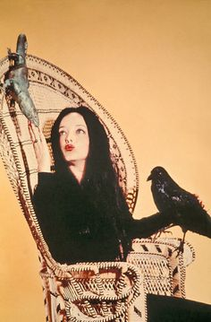 nickdrake:  Morticia Addams.