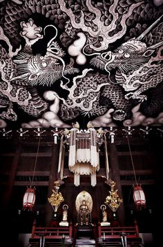 Twin Dragons - Kennin-ji temple, Kyoto