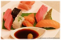 Sushi, Sashimi & Nigiri  Review of Restaurants: Feast @ Sheraton, Bangalore