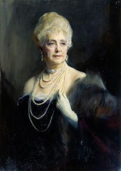 The Athenaeum - The Right Honourable Mabell Ogilvy, Dowager Countess of Airlie (Philip Alexius de László - )