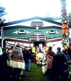 Kwakiutl long house