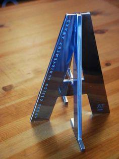 Adobe Design Achievement Award Trophy
