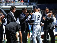 Yankees Honor Derek Jeter as an Icon of His Generation - NYTimes.com Derek  Jeter 23f6e1dd1088