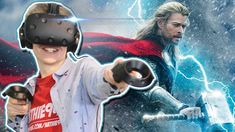 BECOME THOR IN VIRTUAL REALITY!   VRobot VR (HTC Vive Gameplay)      We are checking out VRobot's latest update in where you can dive in the role of Thor, God of Lightning and Thunder. You will be able to play with his hammer ... https://www.youtube.com/watch?feature=youtu.be&utm_campaign=crowdfire&utm_content=crowdfire&utm_medium=social&utm_source=pinterest&v=RBqmdb2ct5I