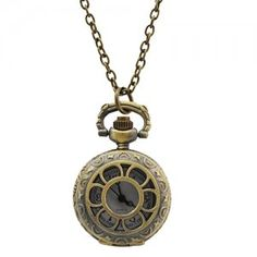 Flower Style Pocket Watch