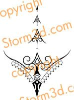1000 ideas about tribal tattoo designs on pinterest tribal tattoos tattoo designs and tattoos. Black Bedroom Furniture Sets. Home Design Ideas