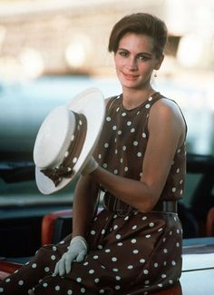 julia roberts polo dress from pretty woman