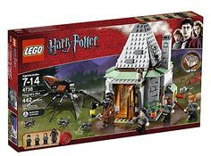 LEGO Harry Potter Hagrid's Hut It is always interesting to visit Hagrid's hut for an afternoon tea. Hagrid prepares rock cakes and tea for his friends but they must also love his monster friends like Aragog and Norbert.