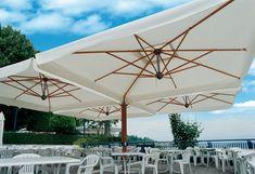 01 Fa 2 és 4 ernyős napernyő JÓ | Exkluzív Pergola és Terasz Árnyékolás - B&B Architektus