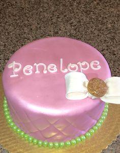 Pink Baby Shower Cake  :)