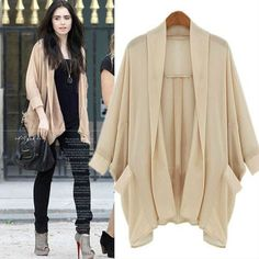 jacket cardigan mortal instruments beige the blind side mirror mirror lily collins oversized cardigan long cardigan flyaway cardigan neutral celebrity style steal celebrity celebrity style celebrities hollywood Chiffon Cardigan, Chiffon Jacket, Beige Cardigan, Oversized Cardigan, Long Cardigan, Cardigan Shirt, Sweater, New Yorker Mode, Style Outfits
