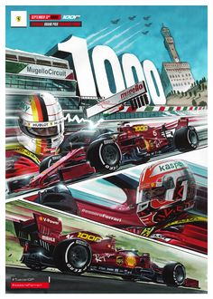 Sports Car Racing, Racing Team, Race Cars, F1 Racing, Ferrari Racing, Ferrari F1, Aryton Senna, Car Posters, Vintage Racing
