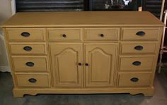 One of my customers at Loot told me to keep an eye out for a buffet for her new home. A couple weeks later, I found this long dresser at...