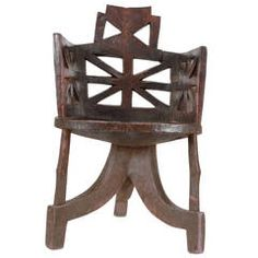 Sculptural Ethiopian Chair
