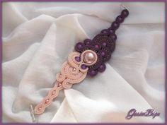 For My Sister bracelet soutache by GosiaBizu.deviantart.com on @deviantART
