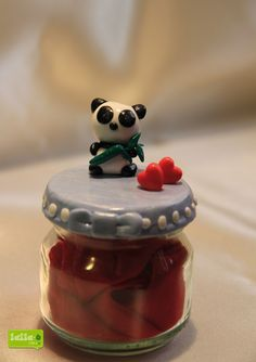 panda e cuoricini