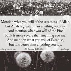 Quran Verses, Quran Quotes, Muslim Quotes, Islamic Quotes, Greater Than, Beautiful Words, Allah, Religion, The Creator