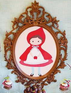 Woodsy Little Red Riding Hood Baby Shower