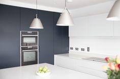 Open Plan Kitchen: Thornhill - Noel Dempsey Design Family Kitchen, New Kitchen, Bespoke Kitchens, Open Plan Kitchen, Open Plan Living, Interior Design Kitchen, Minimalist Design, Living Area, House Plans