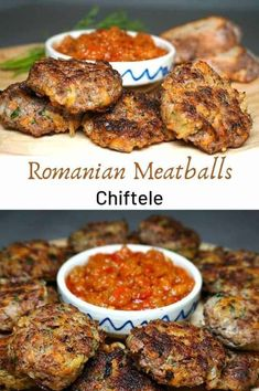 Chiftele are burger-shaped mini meat patties … – Chiftele – Romanian meatball recipe. Chiftele are burger-shaped mini meat patties – # burger shaped Soup Recipes, Brunch Recipes, Vegetarian Recipes, Chicken Recipes, Dinner Recipes, Cooking Recipes, Healthy Recipes, Simple Recipes, Delicious Recipes