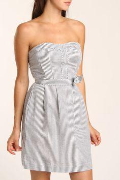 Cute seersucker summer dress